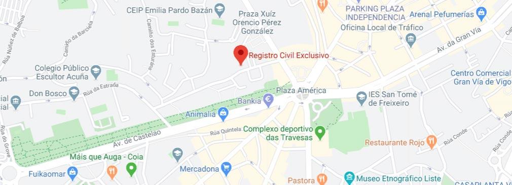 situación del registro civil de Vigo